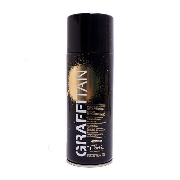 Graffi tan: self tanning spray with bronzer